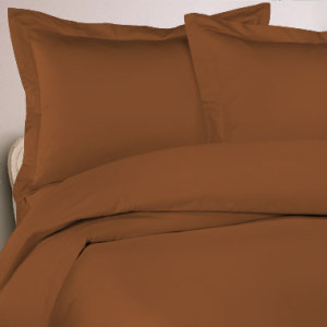 1000 Thread Count Egyptian Cotton Sheet Set - copper