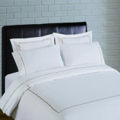 300 Thread Count Scallop Embroidery Percale Sheet Set - taupe